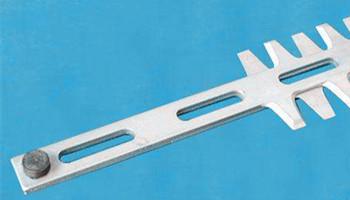 怎么正确使用园林绿篱机刀片?
